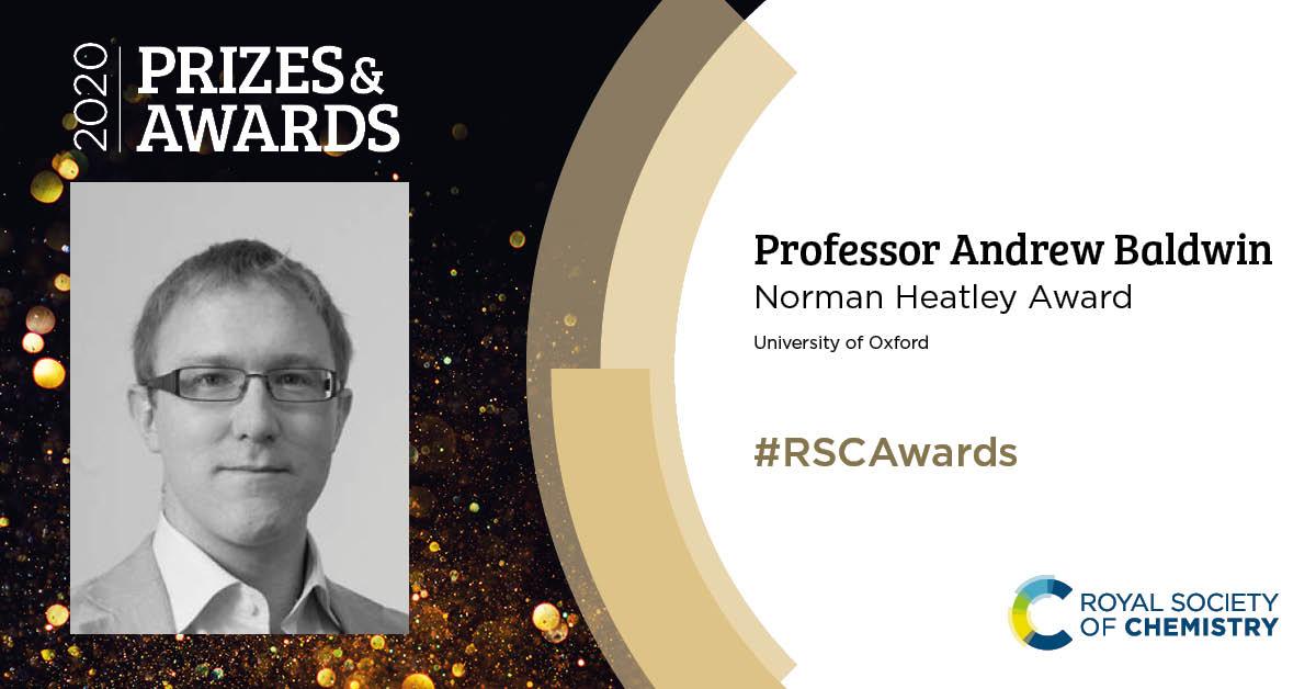 RSC Awards Professor Andrew Baldwin