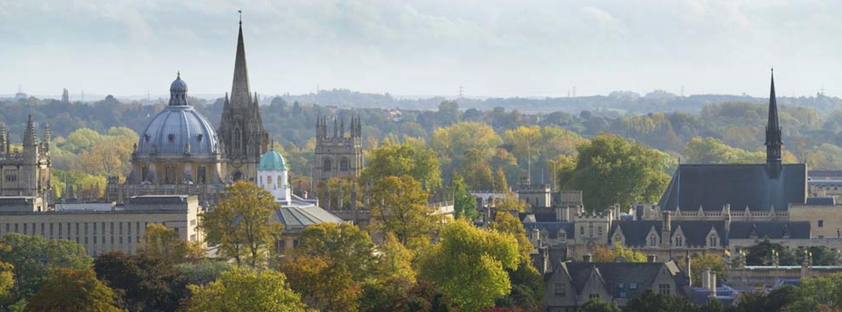 Photo of the Oxford spires