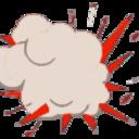 Explosion cartoon