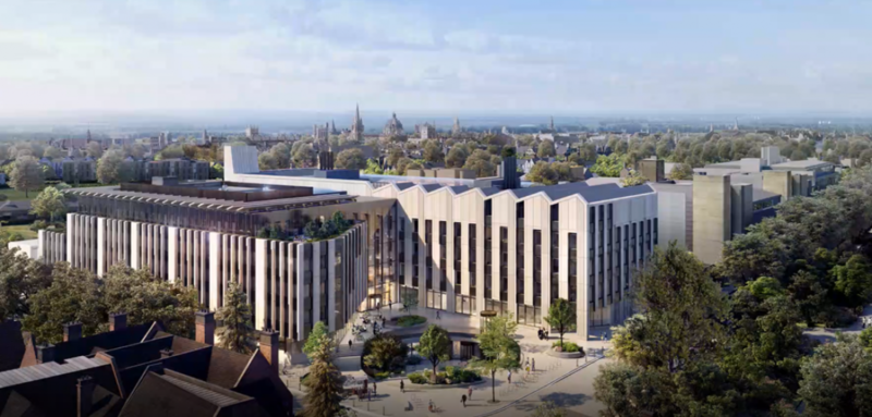 Photo of the INEOS Oxford Institute for Antimicrobial Resistance