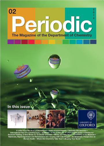 Photo of the cover of Periodic Magazine, issue 2