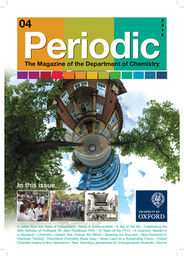 Photo of the cover of Periodic Magazine, issue 4